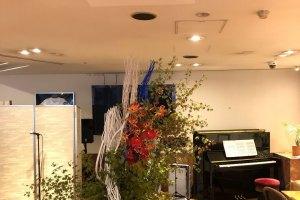 Music&生花コラボレーション!